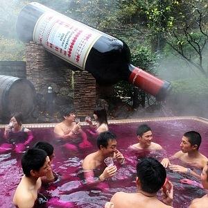 Kdo by se koupal v bahně? Ve víně je pravda...