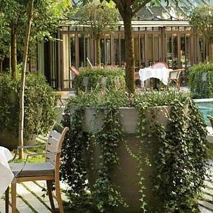 Luxury outdoor sittings