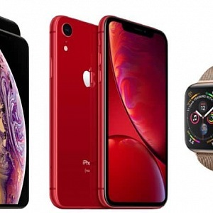 iPhone XS, XS Max, XR a Apple Watch Series 4