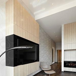 Apartmány jsou luxusně vybaveny.