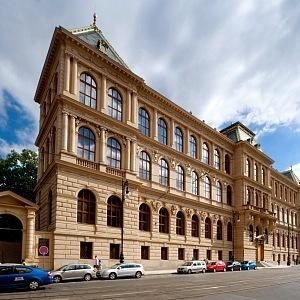 Nová budova Uměleckoprůmyslového musea v Praze