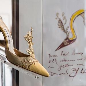 Luxusní obuv Manolo Blahnika