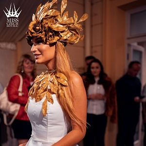 Kateřina Kasanová v národním kostýmu