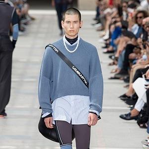 Ležérní styl v kolekci Louis Vuitton S/S 2018