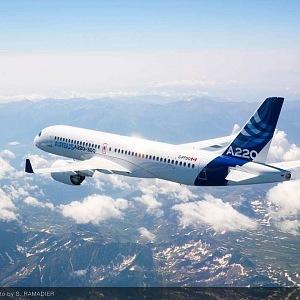 Letadlo Airbus A220