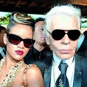 Karl Lagerfeld a Rihanna