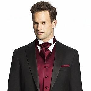 Sladěná kravata s kapesníčkem už nefrčí