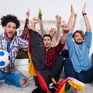 Fotbalový zápas na Valentýna