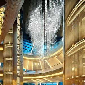Dubai Opera Lasvit osvětlení