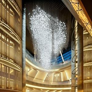Dubai Opera Lasvit osvětlení Symfonie