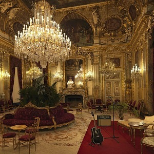 Concert in room of Napoleon III.