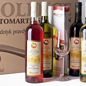 Svatomartineksé víno, vinařství Zborovský