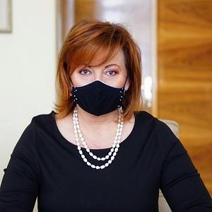 Alena Schillerová ve své kanceláři.