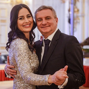 Alex Mynářová a její manžel se Vratislav.