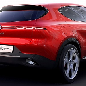 Luxurious concept by Alfa Romeo