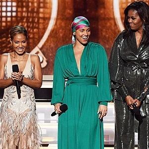 Alicia Keys, Lady Gaga, Jada Pinkett Smith, Michelle Obama a Jennifer Lopez