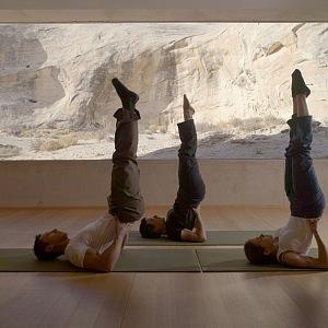 Amangiri resort & spa, jógové cvičení