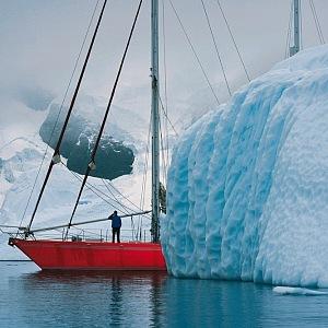 Antarktida.