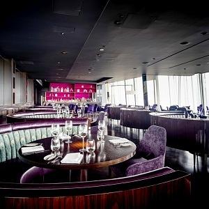 Restaurace v mrakodrapu Shard