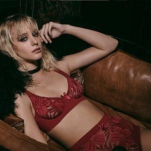 Audrey Bra Red