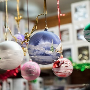 Vánoční ozdoby nechybí!