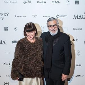 Andrea Bartošková a Jiří Bartoška