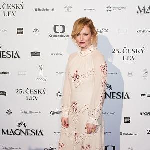 Aňa Geislerová - šaty z Alizé Fashion House