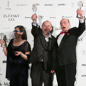 Zuzana Kronerová, Bohdan Sláma a Pavel Nový