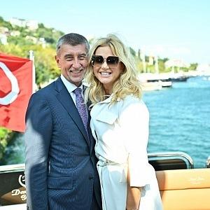 Monika on vacation in Turkey