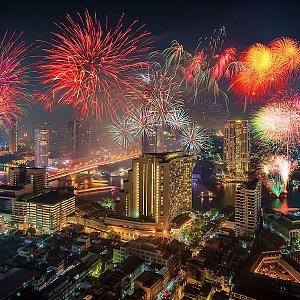 Bangkok a Silvestr