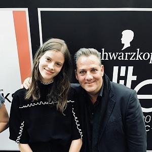 With Bára Podzimková