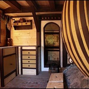 Hobití domečky v Orlických horách, interiér