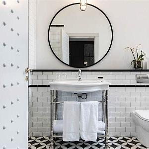 Koupelna v ArtDeco stylu