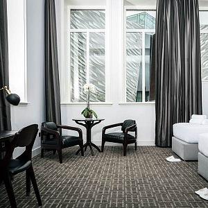 Ložnice Delux v hotelu Belfast