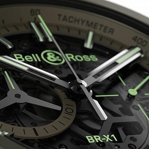 Bell & Ross BR X1 Military, detail
