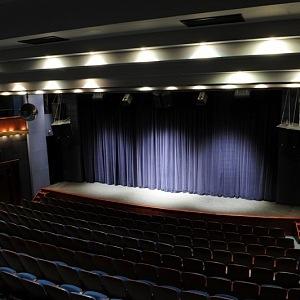 Interior of the Bez Zábradlí Theatre