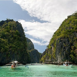 Velká Laguna, v blízkosti ostrova Palawan