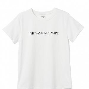 Bílé tričko THE VAMPIRE´S WIFE X H&M
