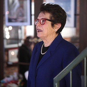Billie Jean King, 2016