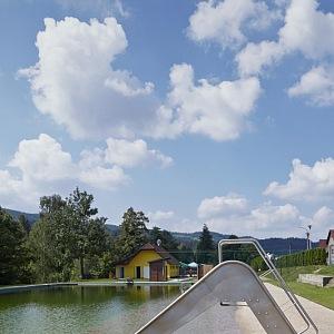 Biotop Bečva, skluzavka