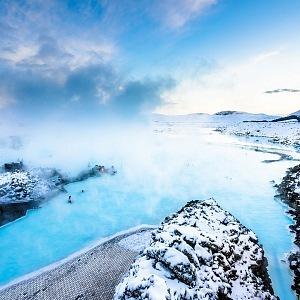 Modrá laguna, Island