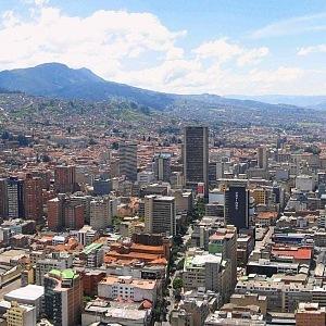 Bogóta, hlavní město Kolumbie