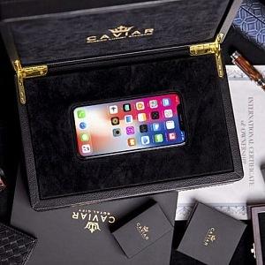 iPhone X Putin Gold Age, dárkové balení