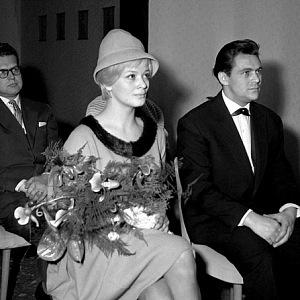 Miloš Forman a Jana Brejchová