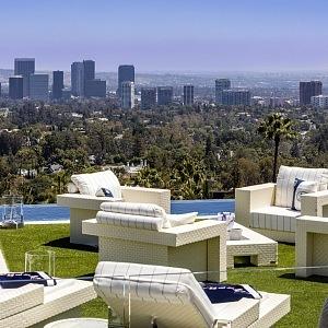 Výhled na celé LA
