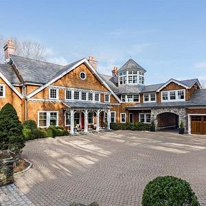 Bruce Willis a jeho dům v Bedford Corners
