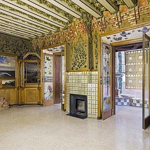 Casa Vicens - nenapodobitelný interiér