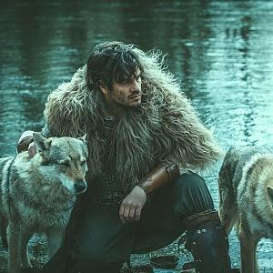 Focení s vlky.
