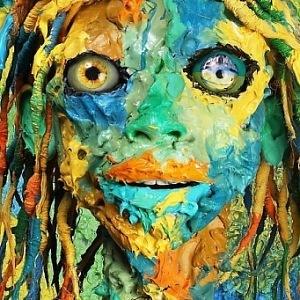 Ashley Bickerton, Mitochondrial Eye