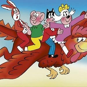 Čtyřlístek se již dvakrát objevil v animovaném filmu